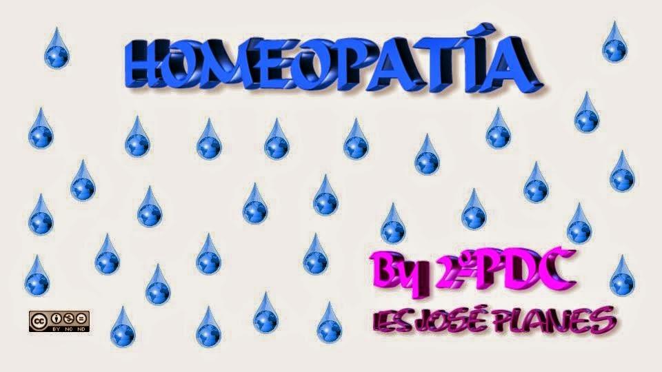 ERROR HOMEOPATÍA