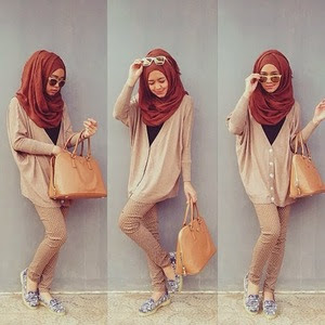 Simple Tips! Memilih Model Hijab Sesuai Bentuk Wajah