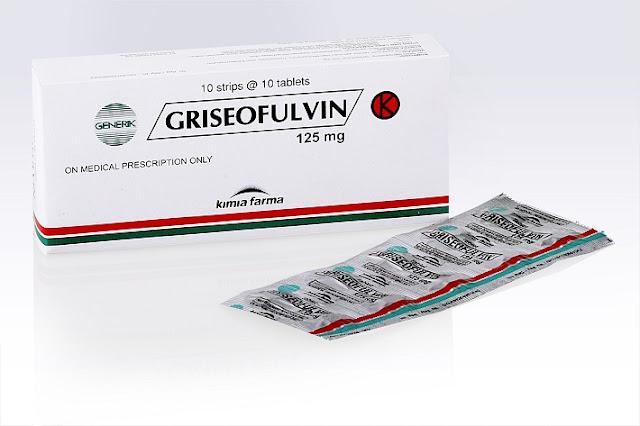 Griseofulvin Khasiat Dosis dan Harga