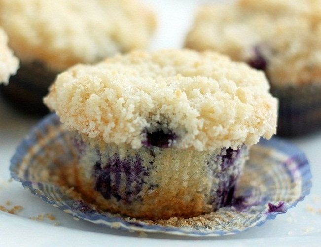 Recetas: Finally, The Blueberry Muffin of My Dreams