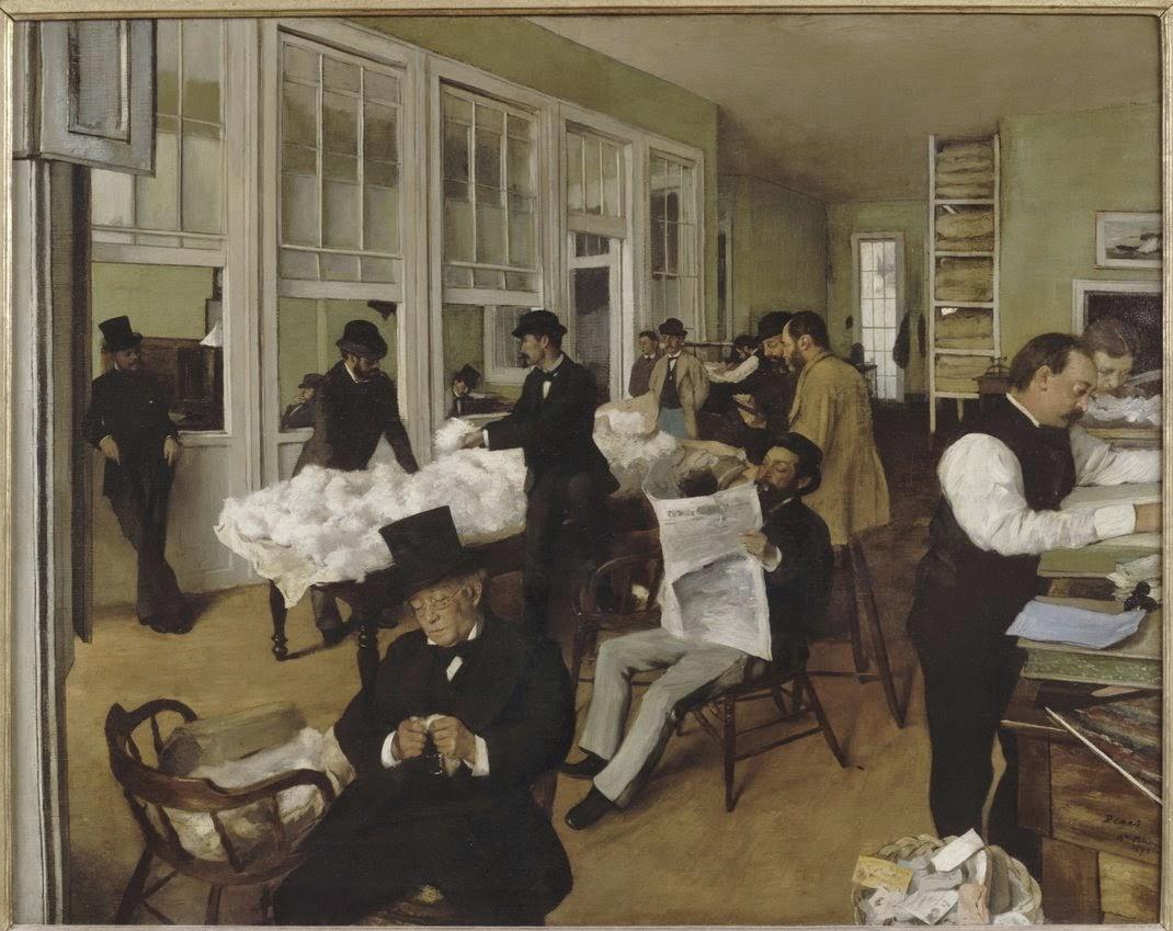 Degas - Portraits dans un bureau