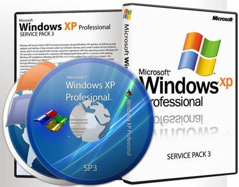 Windows XP SP3 con Drivers SATA. ISO Original en Español