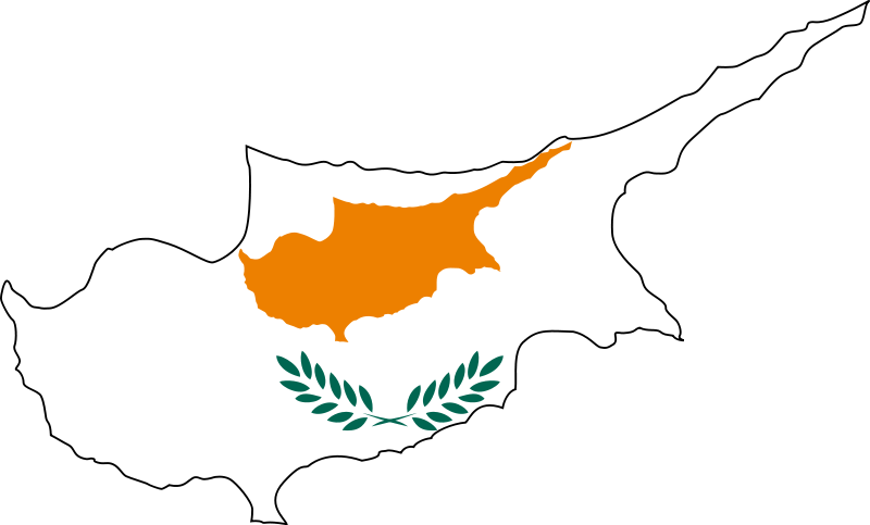 Cyprus Map Png - Cyprus map png