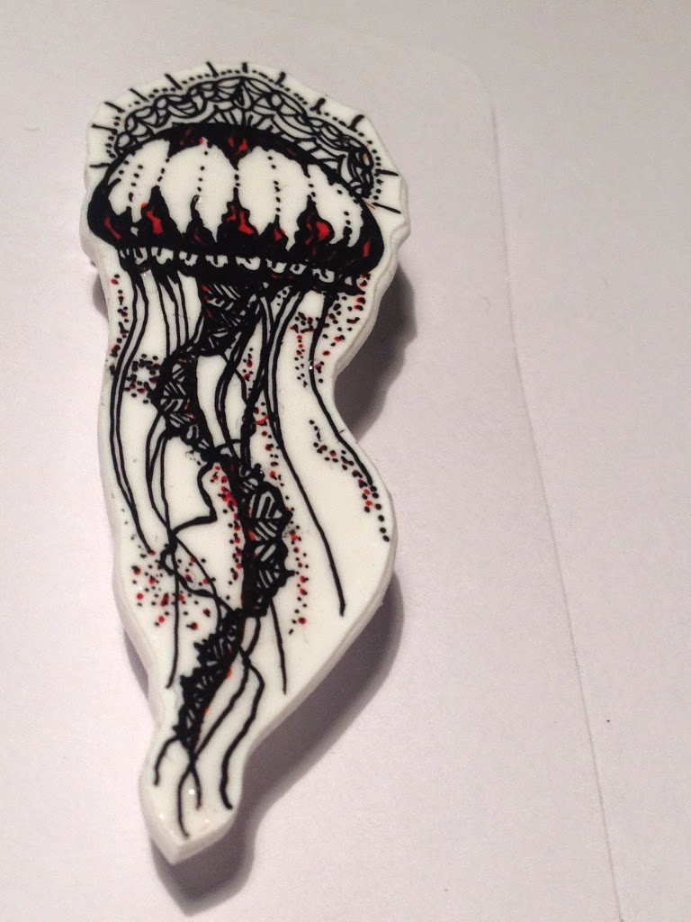 Shrinkydinks Anstecker Qualle