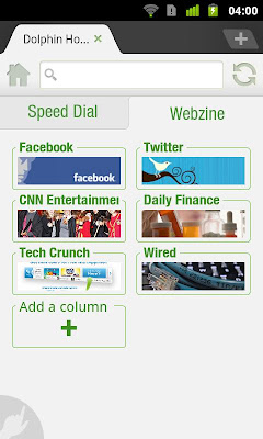 Dolphin Browser HD v7.6.0