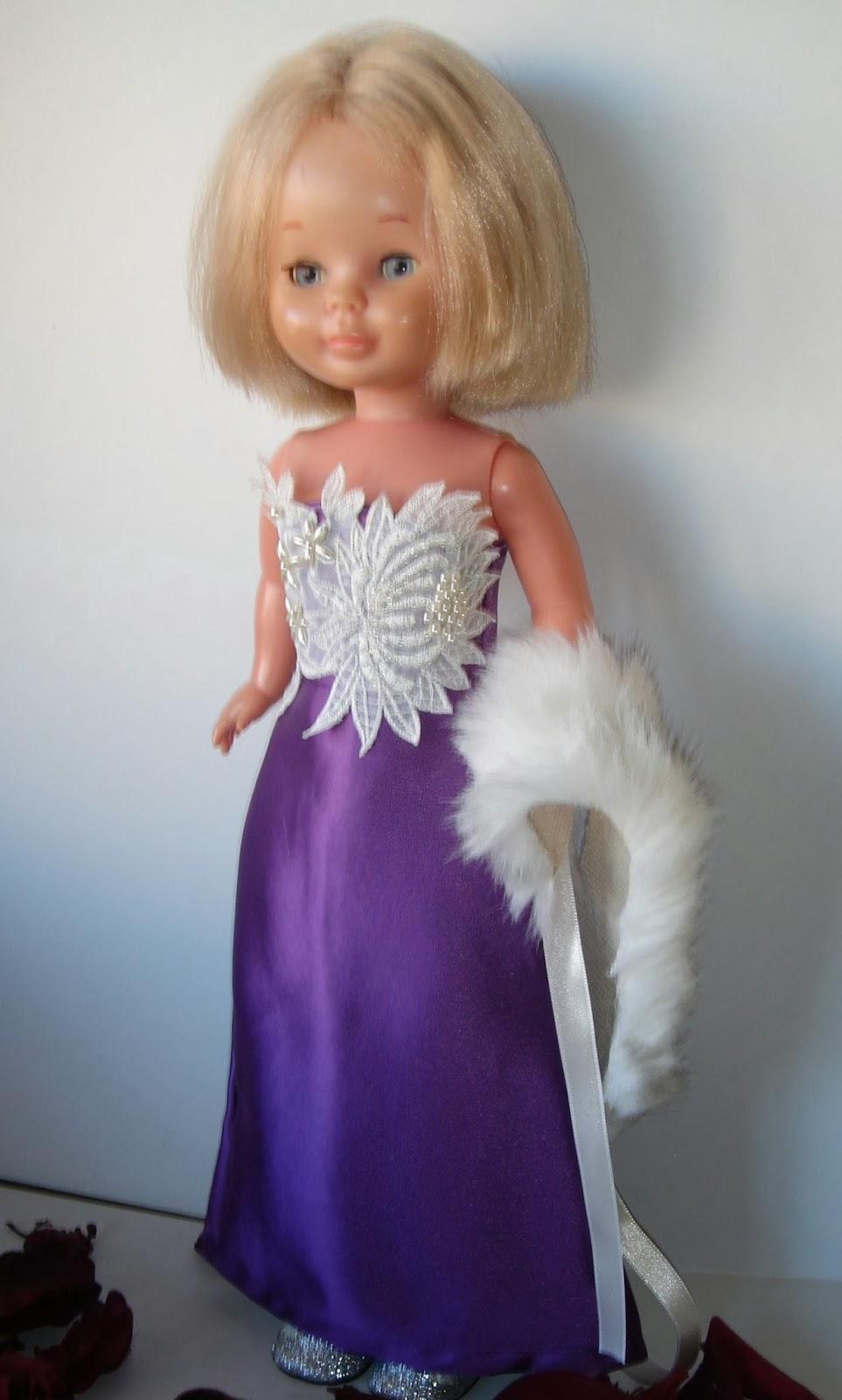 El Costurero de Chus: Vestido fiesta para Nancy
