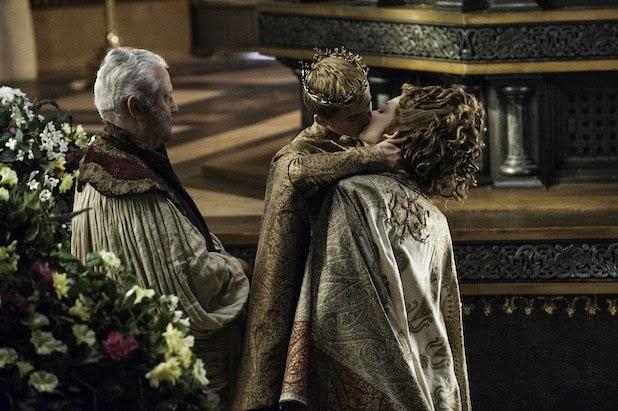 """Joffrey y Margaery en el cap. """"El León y la Rosa"""" (Juego de Tronos 4x02)"""