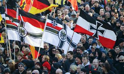 Anti-migrant protests in Germany