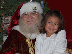 Cannie and Santa