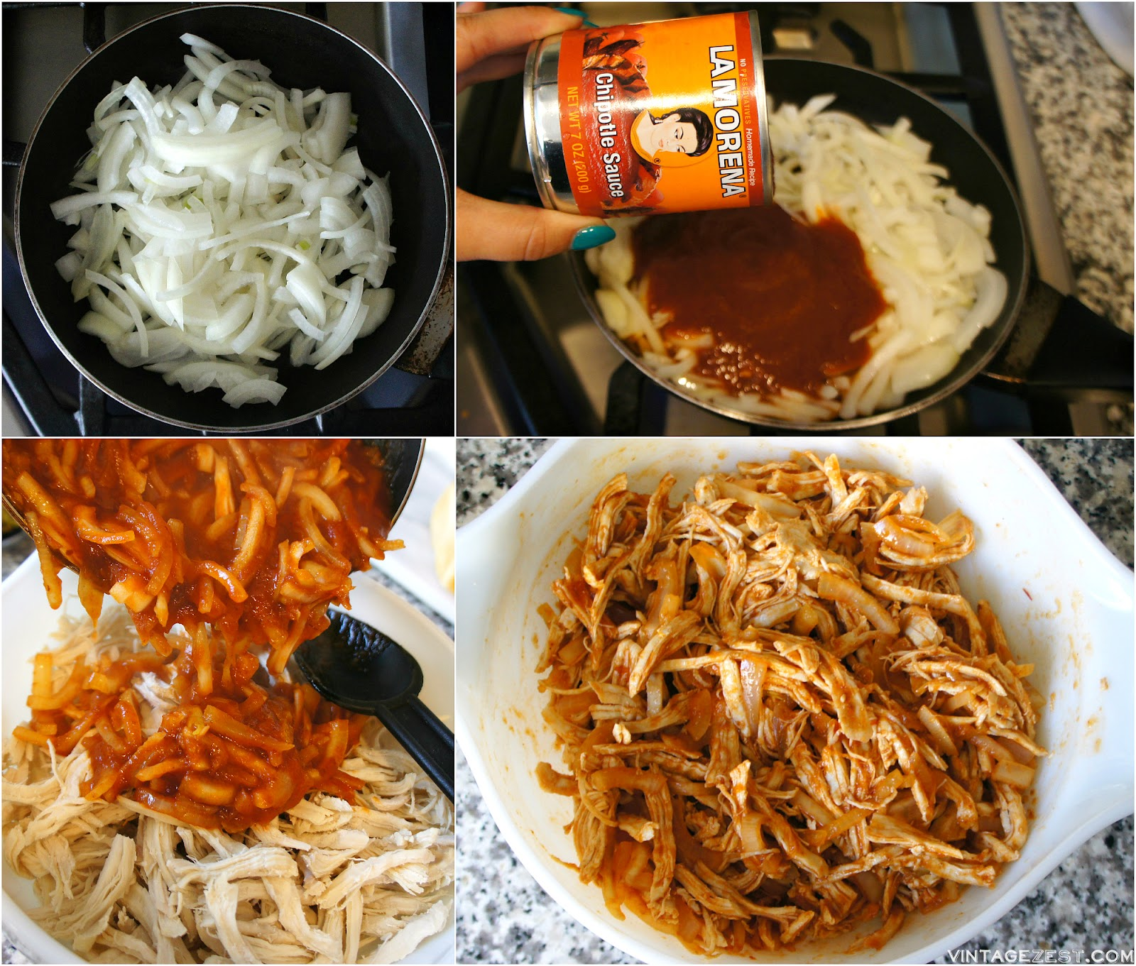 Spicy Chipotle Chicken Sliders recipe on Diane's Vintage Zest!  #ad #VivaLaMorena