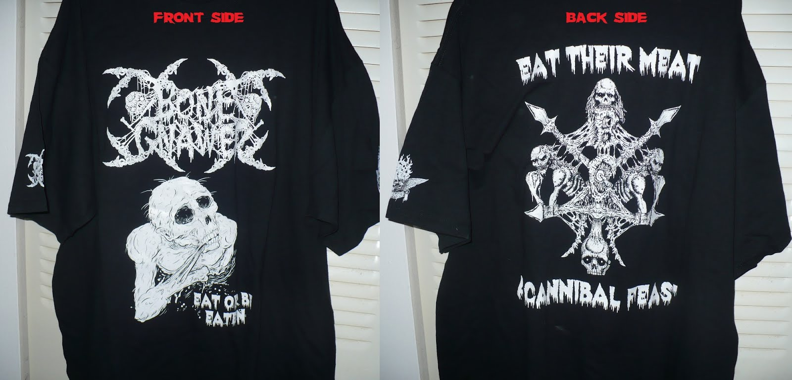 BONE GNAWER - 2XL T-shirt