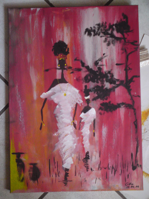 ART: African fashion art