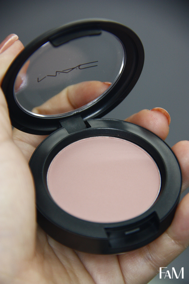 Mac Blushbaby Blush - Review, Swatch and Demo