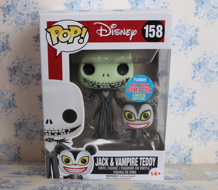 jack and vampire teddy funko pop