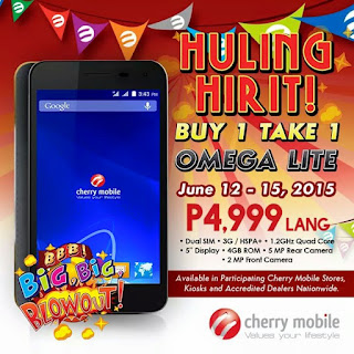 Cherry Mobile buy 1 take 1, Philippine promo