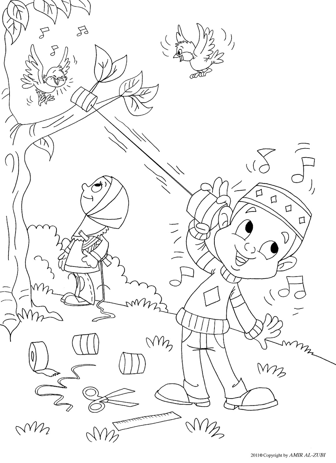 Muslim Coloring Pages And Boys On Pinterest Muslim Colouring Pages