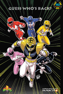 Download Mighty Morphin Power Rangers torrent graphic novel Lost Episodes online