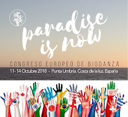 Organizamos el  III CONGRESO EUROPEO DE BIODANZA