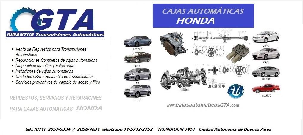 Caja Automática HONDA