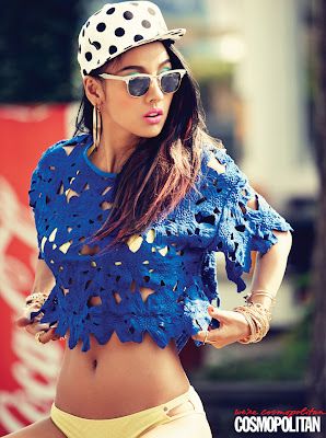 Hyori Lee Cosmopolitan July 2013 Sexy Hipster Girl