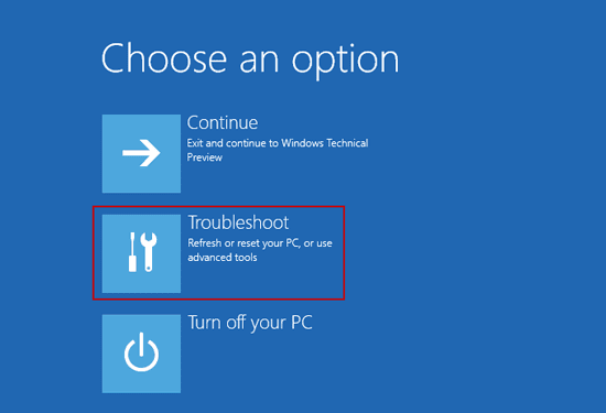 Password recovery ways tips how to start windows 10 in for Choosing new windows