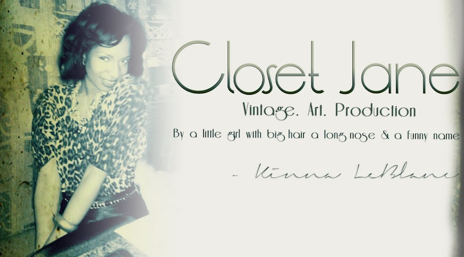 Closet Jane: The Blog