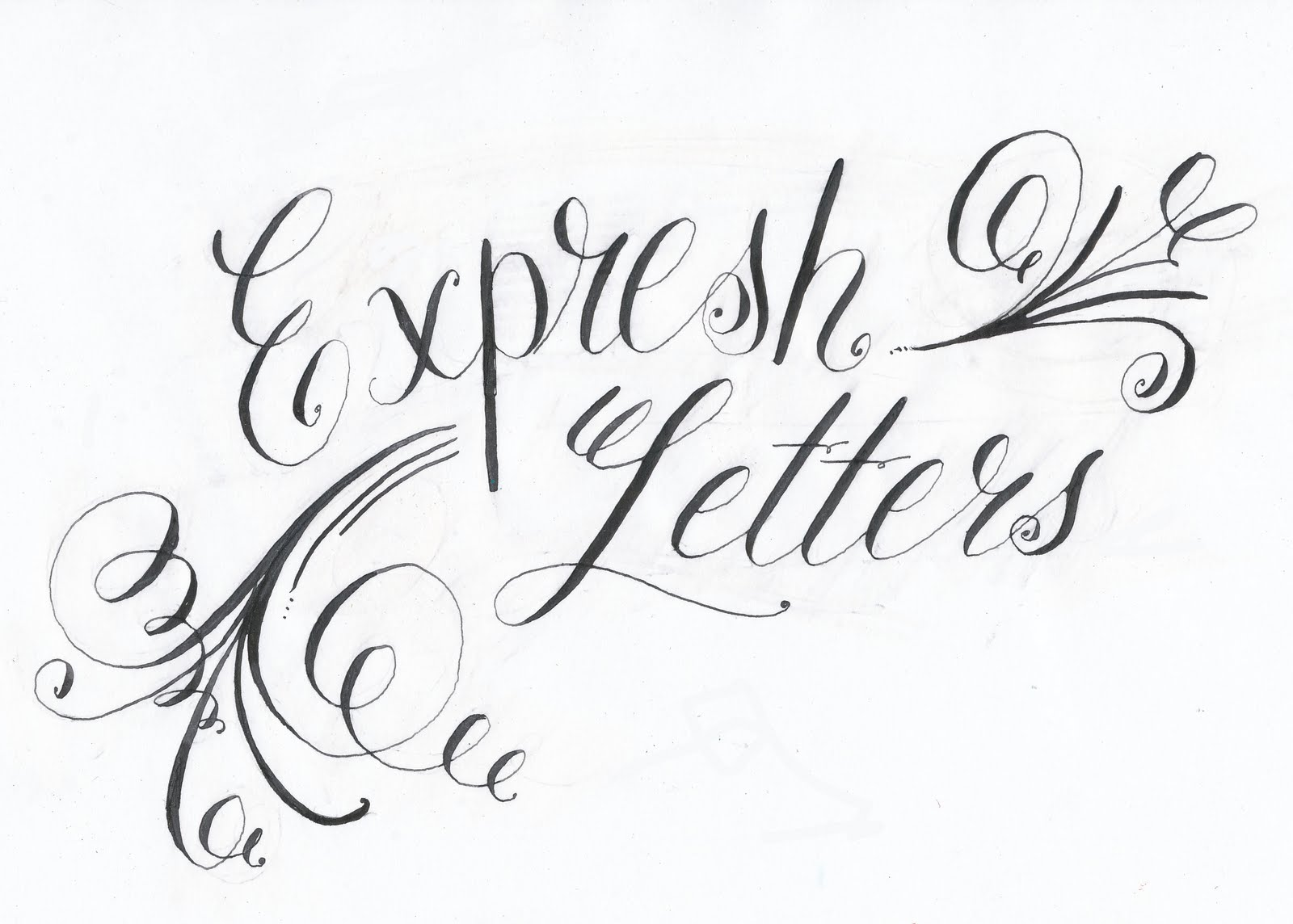 Expresh letters by tina vines