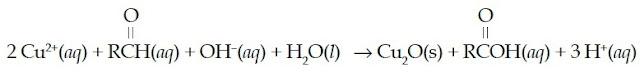 pereaksi Fehling aldehid asam karboksilat