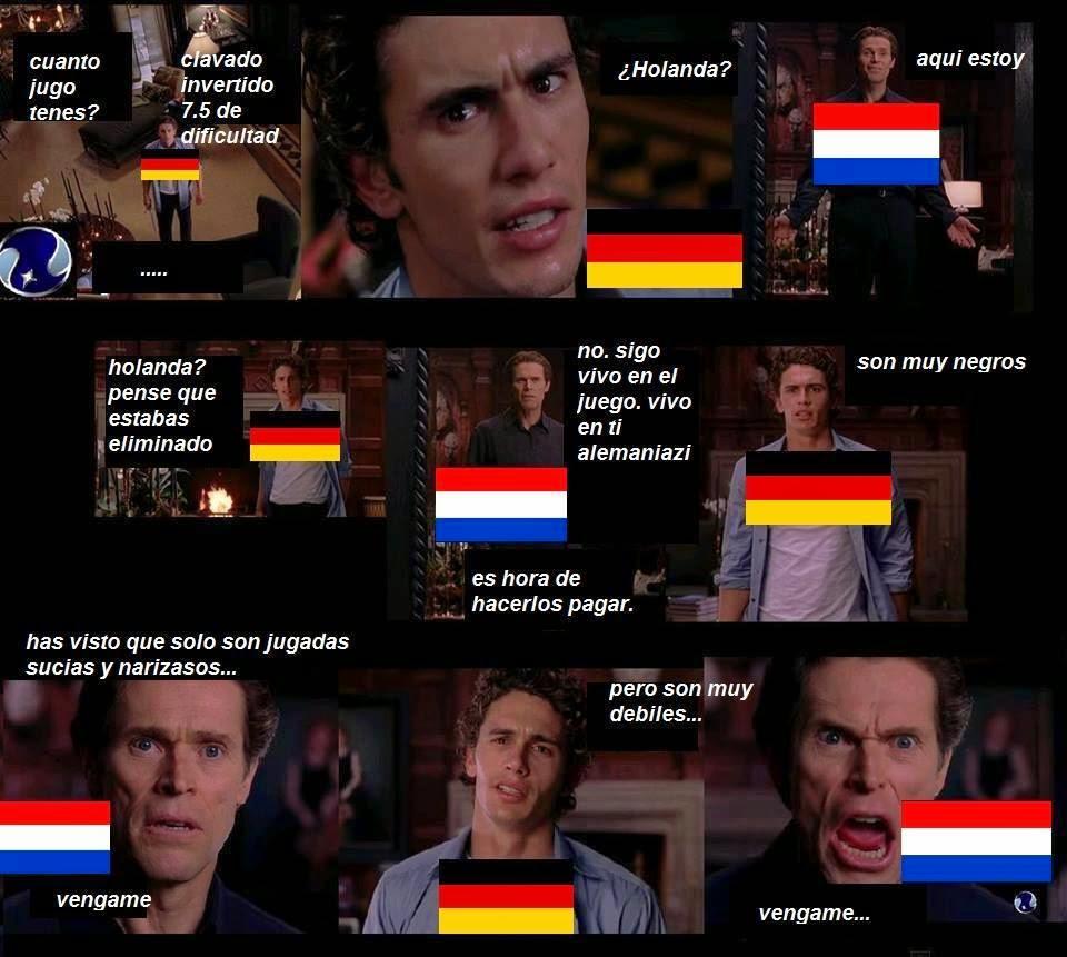Ahora Alemania los goleara