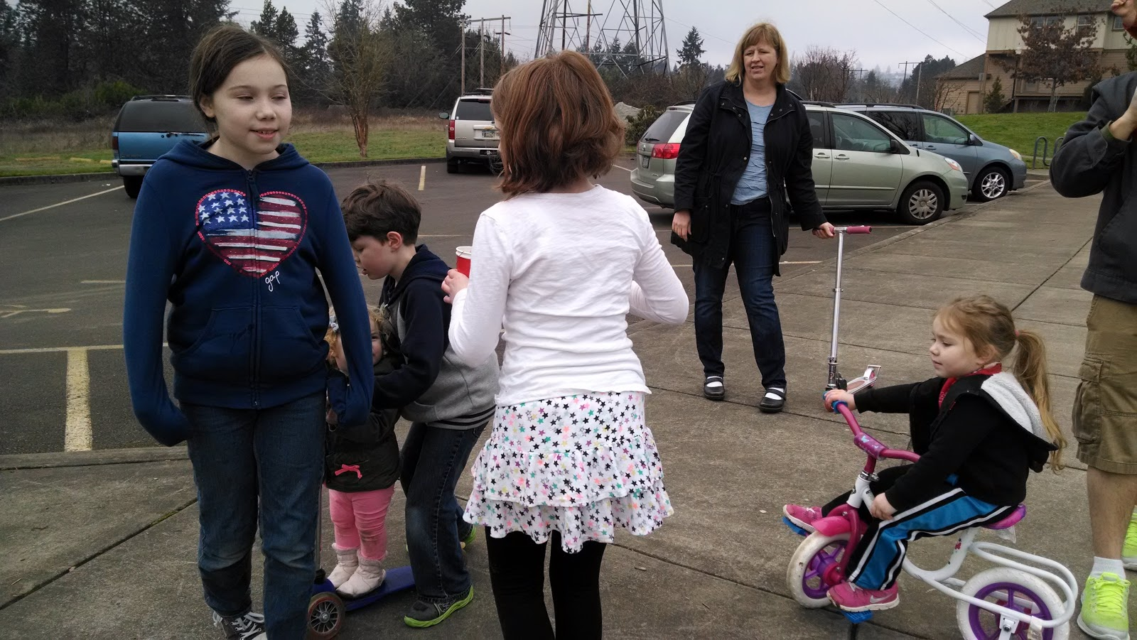 dearest place tigard adventures erika bushman and her kids kim deaver her son and then her dad phil kim barlow her kids and darian jones his kids