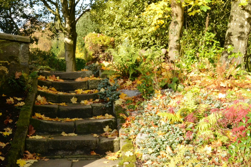 pollok country park house glasgow scotland garden steps