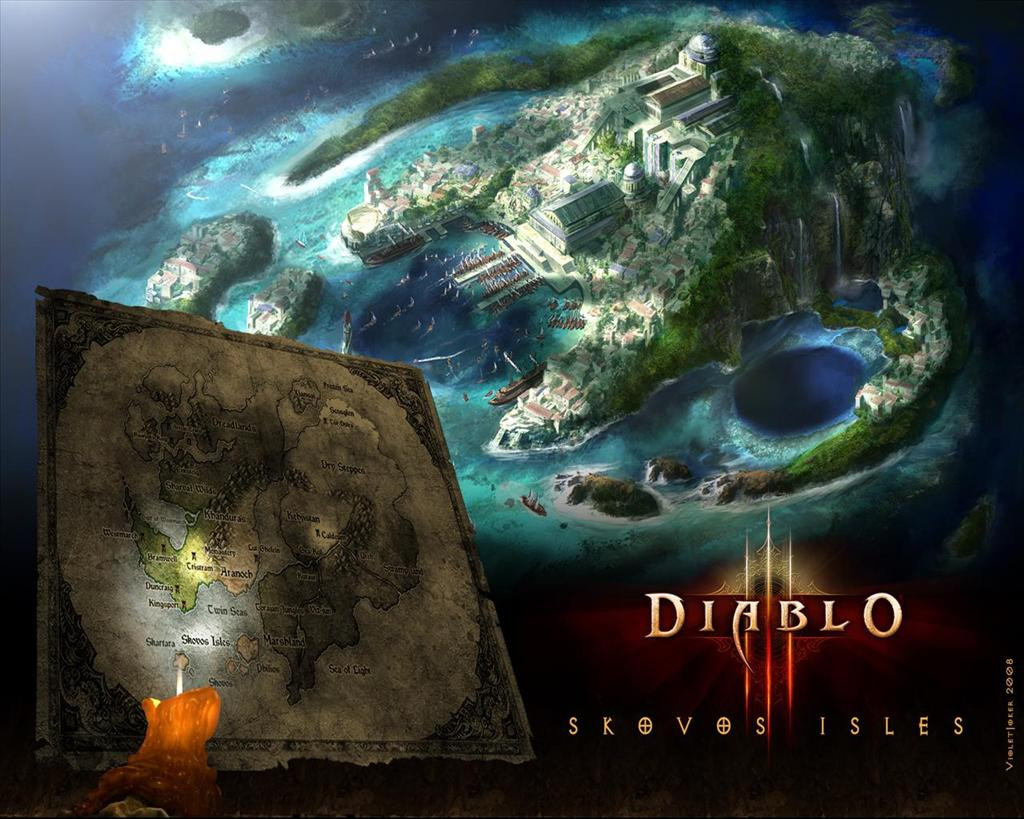 Diablo HD & Widescreen Wallpaper 0.632374975396531