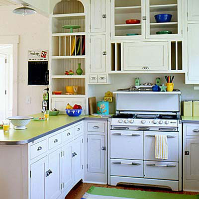Kitchen on Dora S Cottage  Vintage Kitchen Love