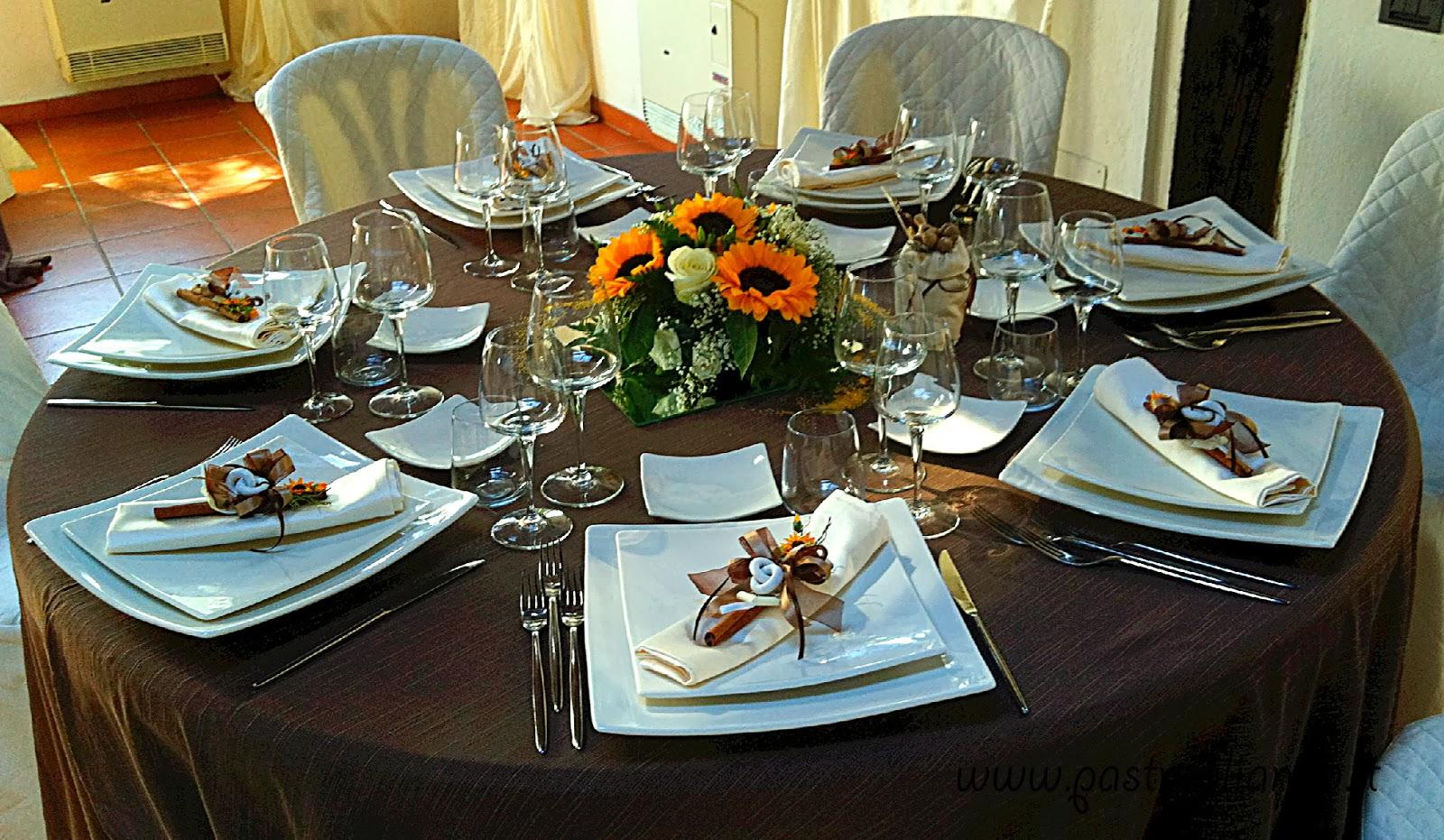Tavoli Matrimonio Girasoli : Pastrugliando allestimenti