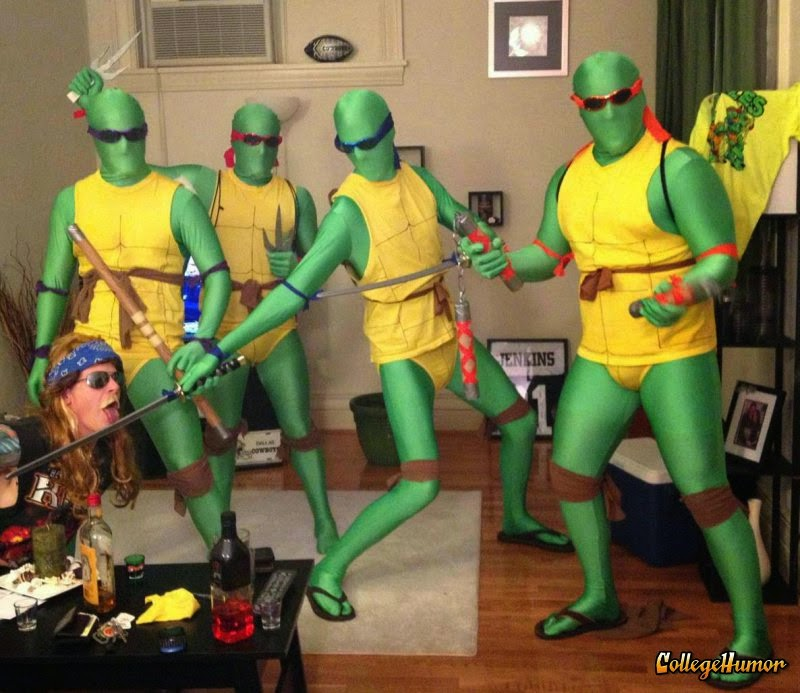 Ninja Turtles Body Suit Halloween Costumes