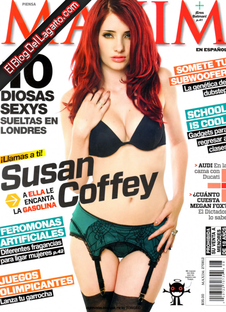 Revista Maxim del mes de Agosto 2012 en formato PDF Completa, descarga ...