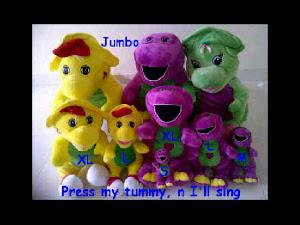 Barney Singing