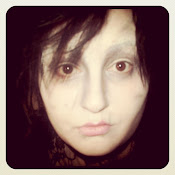 Edward ScissorHands Costume Make-Up