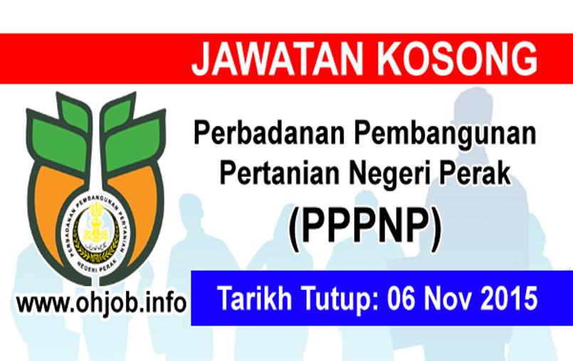 Jawatan Kerja Kosong Perbadanan Pembangunan Pertanian Negeri Perak (PPPNP) logo www.ohjob.info disember 2015