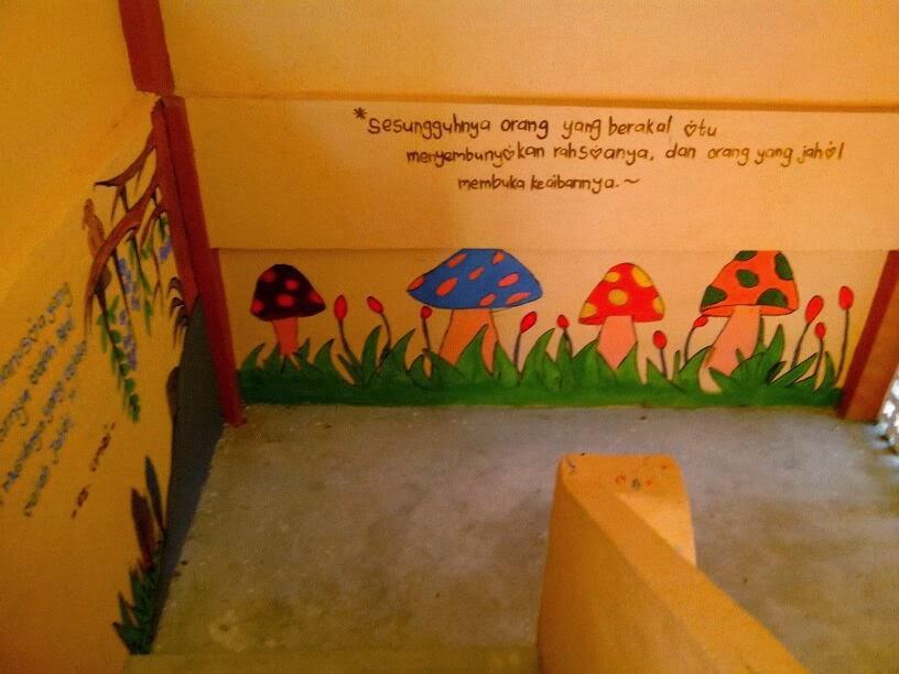 Smi darul bayan paka memacu kecemerlangan projek for Mural sekolah rendah
