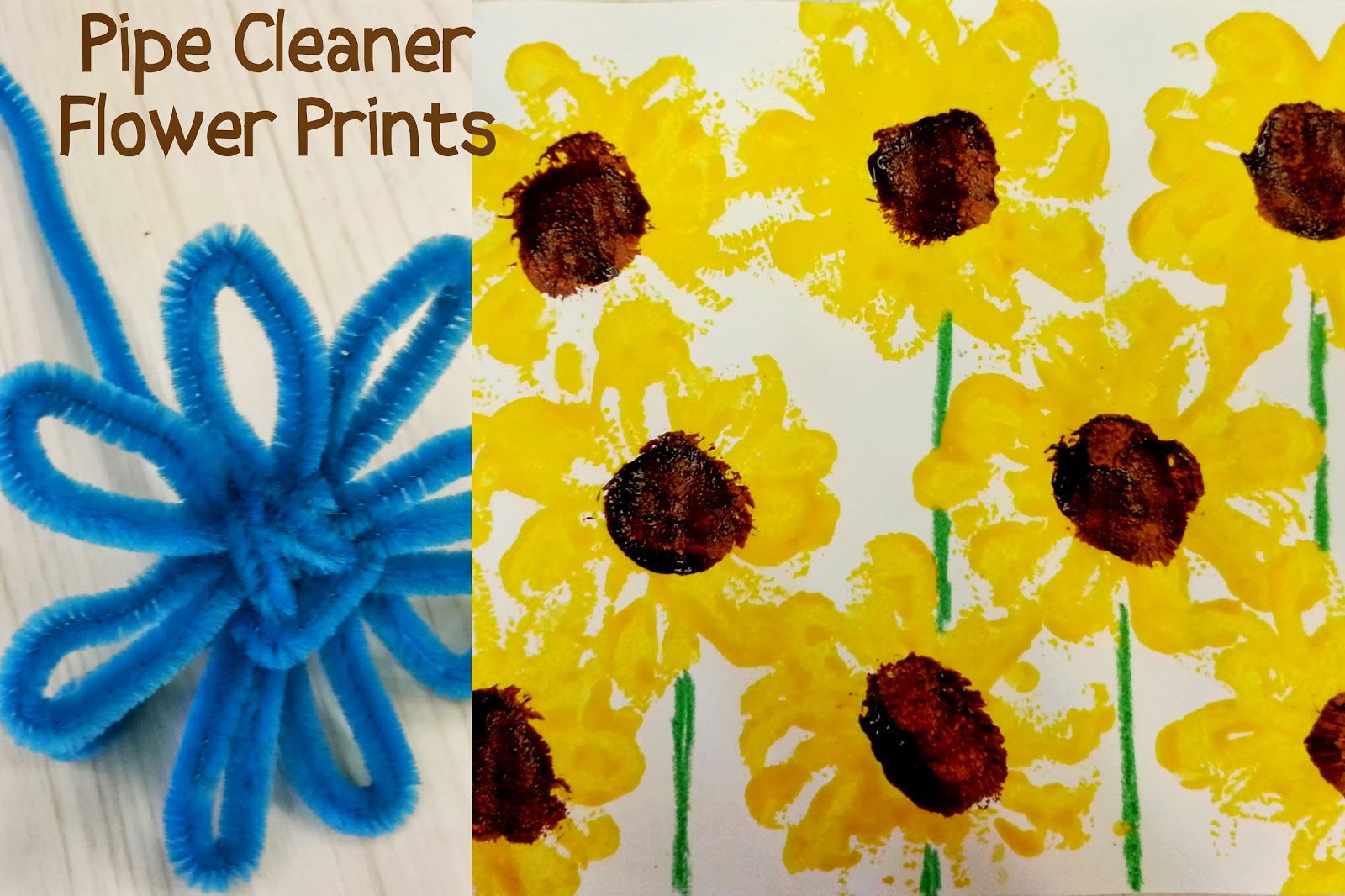 Pipe Cleaner Crafts For Kids Prints Summer