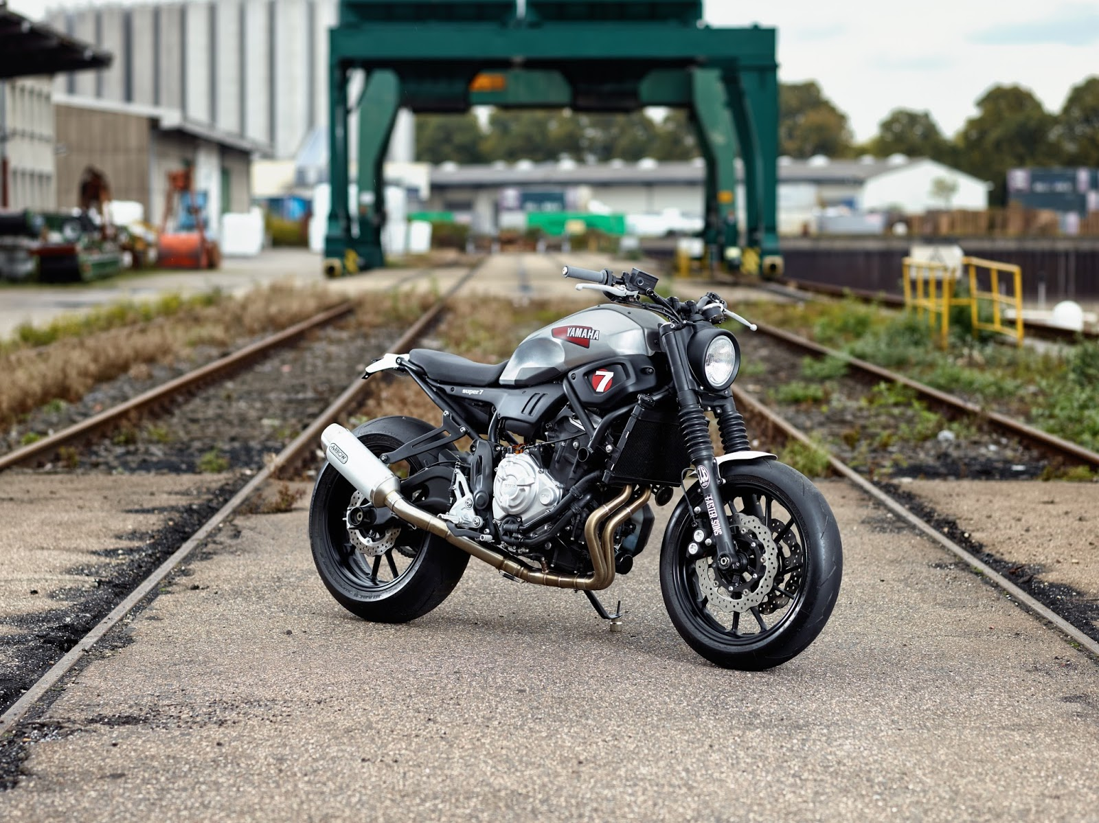 Yamaha XSR 700 Super 7 By JvB Moto