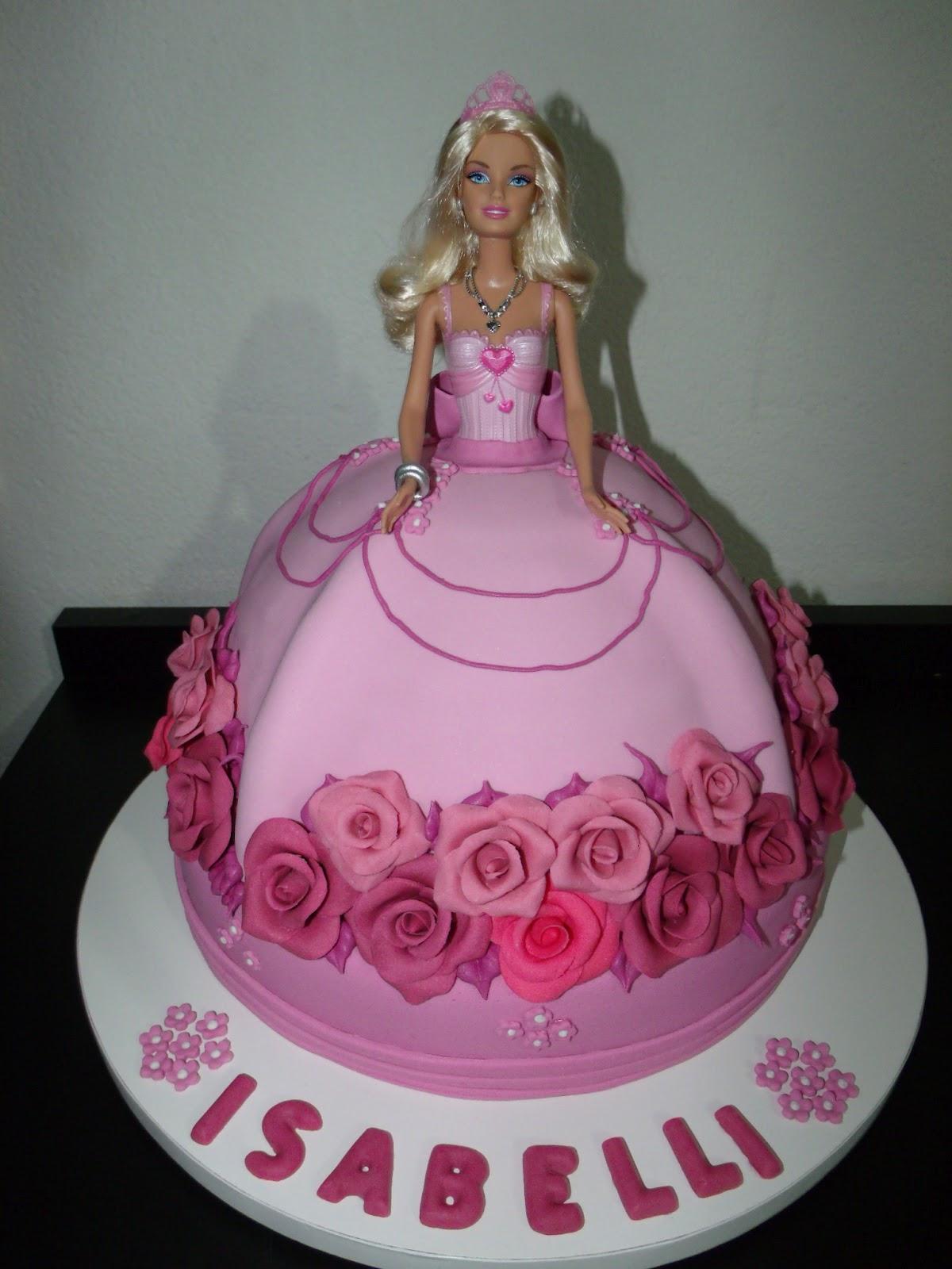 Bolo Da Barbie