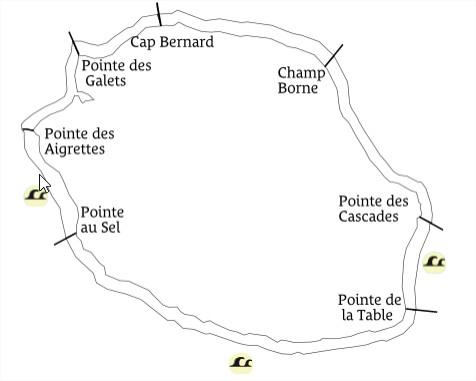 Bulletin de vigilance forte houle émis par Météo France