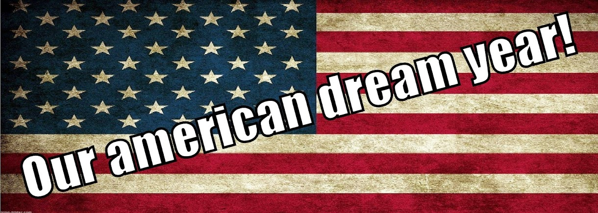 Our american dream year...♥