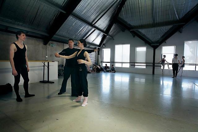 Ballet Class: Teacher