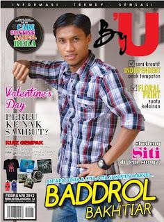 Baddrol Bakhtiar Bergaya Untuk Majalah By'U