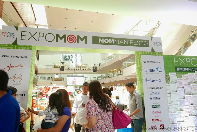 Expo Mom entrance