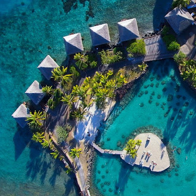 Hotel Intercontinental en Tahiti - Beautiful Resort