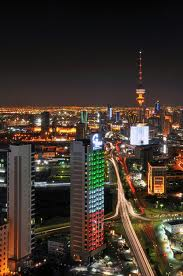 Light tower of  kuwait city 2012